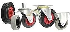 Gumové kolesá
