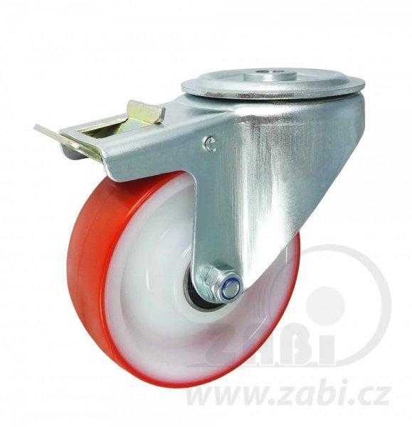 Plastové koleso 100 mm otočná vidlica