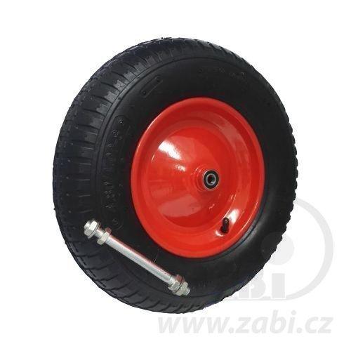 Náhradné pneumatické koleso pre záhradné koliesko 400 mm (4.80/400-8 4PR)
