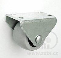 Nábytkové koleso 30 mm pevná vidlica