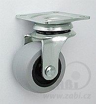 Nábytkové koleso 40 mm otočná vidlica