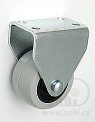 Nábytkové koleso 40 mm pevná vidlica