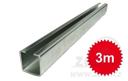 Pozinkovaný nosný C profil 20mm dľžka 3 metrov