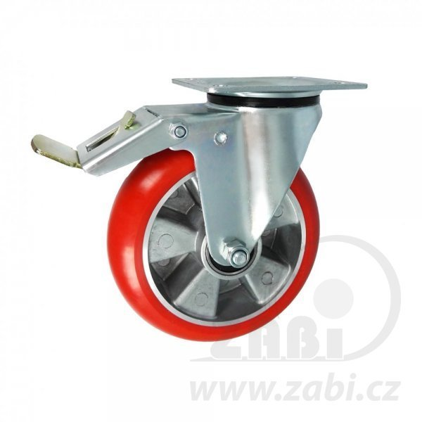 Polyuretánové koleso pre ľahkú manipuláciu - otočná vidlica