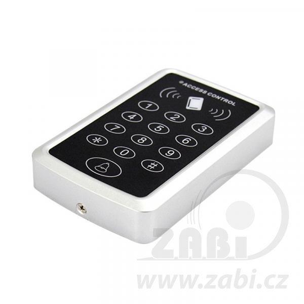 Prístupový systém s klávesnicou a čítačkou RFID