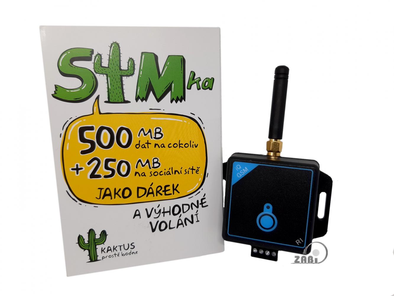 Diaľkové ovládanie pomocou mobilného telefónu - GSM ovládanie pre 10 užívateľov