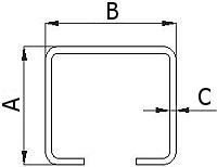 Nosný vozík 60 mm pre závesnú bránu, vráta