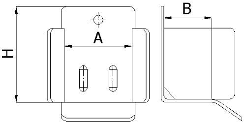 Dojazdová kapsa pre veľké pojazdové brány