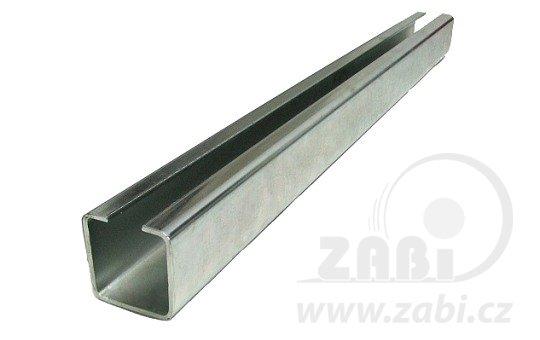 Koľajnice pre závesné brány 30mm dĺžka 3 metre
