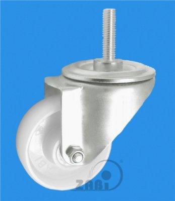 Plastové koleso 100 mm otočná vidlica antikoro