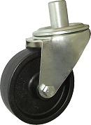 Žiaruvzdorné koleso 100 mm otočná vidlica s čapom