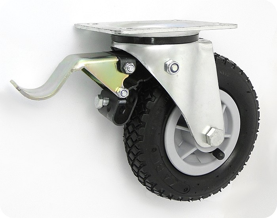 Pneumatické koleso 175 mm otočná vidlica
