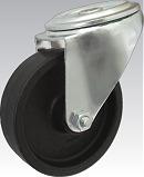 Žiaruvzdorné koleso 100 mm otočná vidlica s otvorom