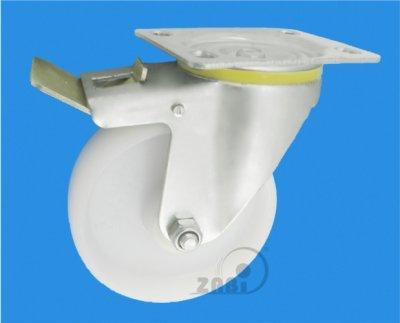 Plastové koleso 125 mm otočná vidlica