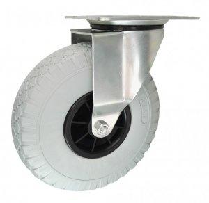 Elastické koleso 260mm s otočnou vidlicou