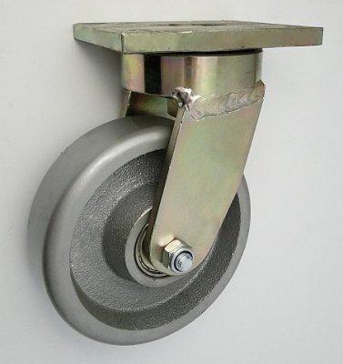Liatinové koleso 160 mm otočná vidlica s doskou
