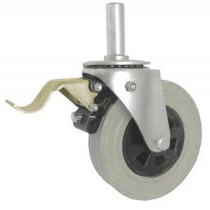 Gumové koleso 180 mm otočná vidlica s čapom