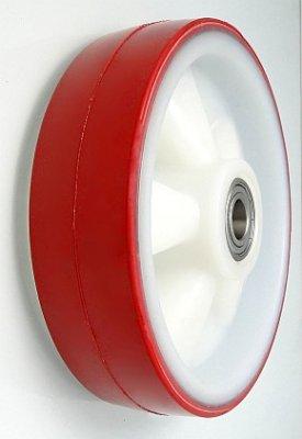 Plastové koleso 200 mm samostatné s nerezovým ložiskom