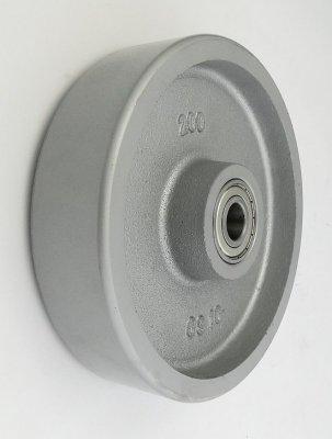 Liatinové koleso 200 mm samostatné