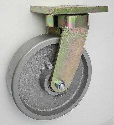 Liatinové koleso 200 mm otočná vidlica s doskou