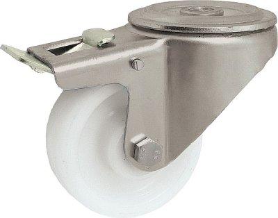 Plastové koleso 125 mm otočná vidlica antikoro