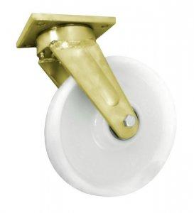 Polyamidové koleso 250 mm otočná vidlica zváraná pre vysoké zaťaženie