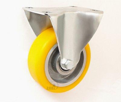 Polyuretánové koleso 100 mm pevná vidlica