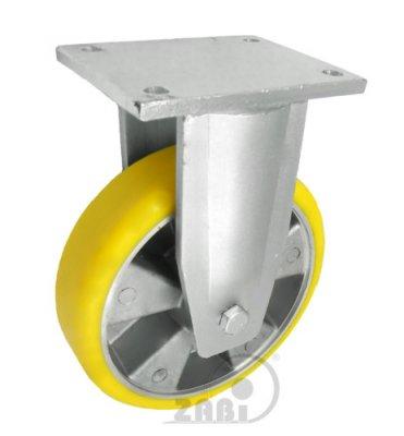 Polyuretánové koleso 200 mm pevná vidlica
