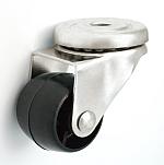 Nábytkové koleso 30 mm otočná vidlica
