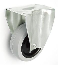 Nábytkové koleso 75 mm pevná vidlica