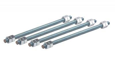 Sada závitových tyčí M12/250X4