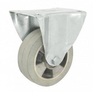 Gumové koleso 125 mm pevná vidlica s doskou