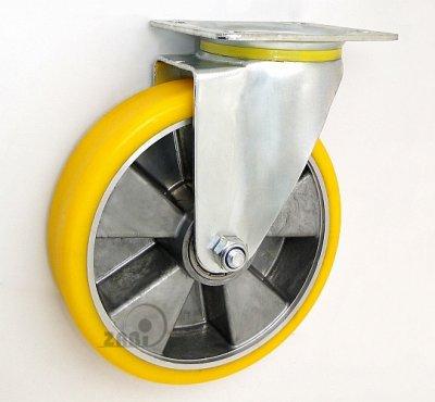 Polyuretánové koleso 180 mm otočná vidlica
