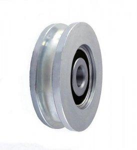 Kladka kovová s ložiskom 54 mm