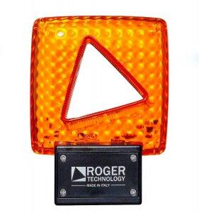 Výstražné svetlo 24V s anténou