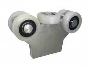 Nosný vozík pre pojazd do nosného profilu 50 mm