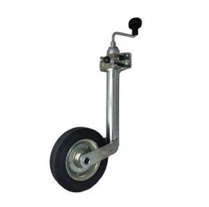 Oporné koliesko k prívesu, prívesnému vozíka