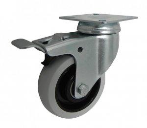 Nábytkové koleso 75 mm otočná vidlica
