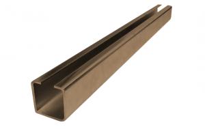 Nosný C profil pre posuvnú bránu 100mm dľžka 3 metrov