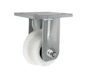 Plastové koleso s nákolkom vo vidlici 95 mm
